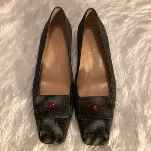 Kate Spade Tweed Flats